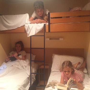 Bunk rooms for 3 worked well for us